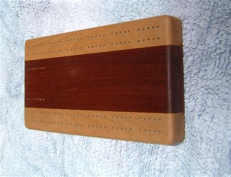 cribbage board by taff lumberjocks com woodworking
