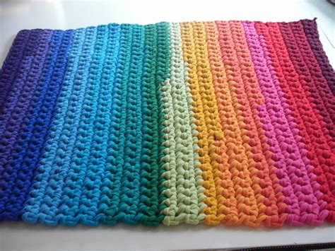 crochet rug pattern with yarn crocheted yarn rugs free patterns crochet and knitting