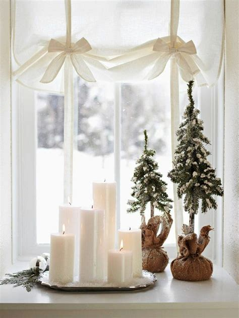 Weihnachtsdeko Fensterbank Weiss by Fensterdeko Zu Weihnachten 104 Neue Ideen