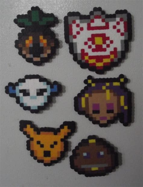 how to make a bead mask majora s mask perler bead mask magnet by