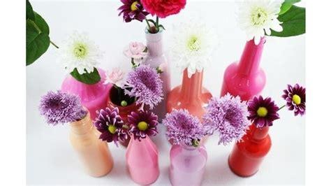 bikin sendiri vas bunga unik  botol bekas lifestyle