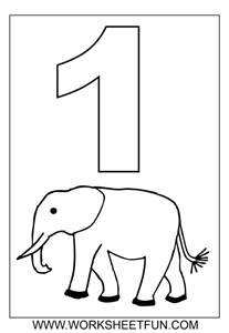 coloring pages with numbers number coloring pages 1 10 worksheets free printable