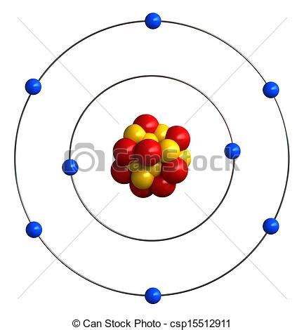 protons for oxygen clipart of atomic structure of oxygen 3d render of