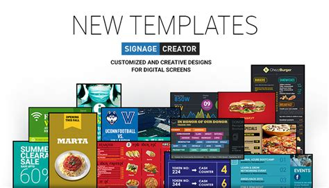 News Press Mvix Digital Signage Templates