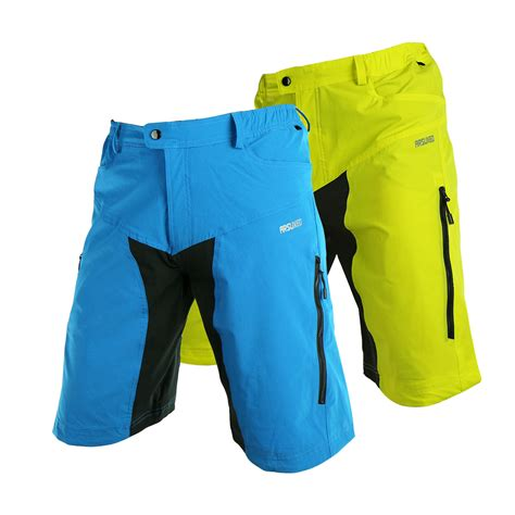mens bike riding arsuxeo mens sports riding short pants cycling bike