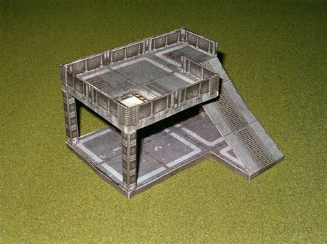 Papercraft Terrain - moar papercraft terrain