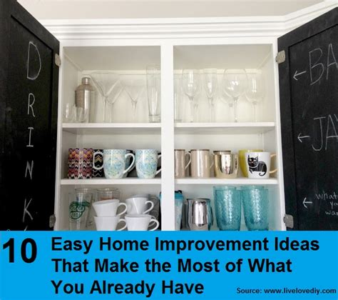 10 easy home improvement ideas home and tips