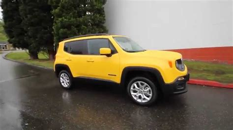 jeep yellow 2017 2015 jeep renegade latitude yellow fpb17324 redmond