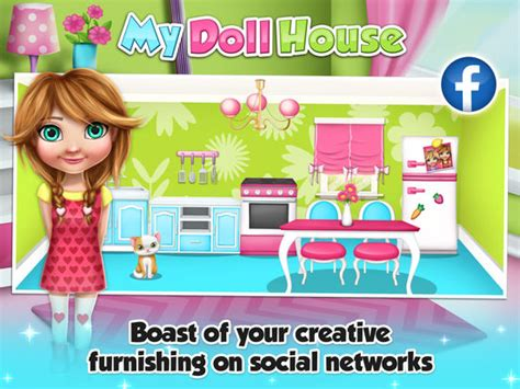 app shopper dream house design game for girls games app shopper my doll house decoration game s design and