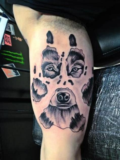 bear sleeve tattoo designs picture of cool on the arm