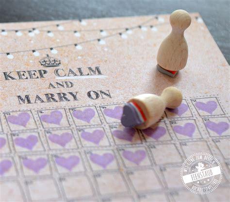 Hochzeit Countdown by Hochzeits Countdown Noch 100 Tage Feenstaub At