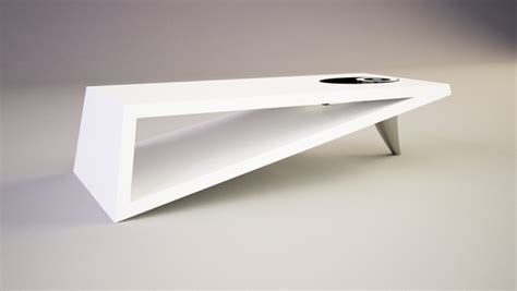 contemporary coffee tables modern triangle coffee table