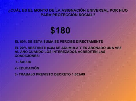 salario universal por hijo este mes cuanto es el monto a cobrar asignacion universal de mayo