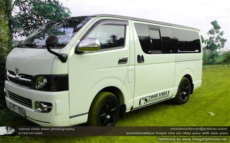KDH Van with Driver   Rent a Car Van Sri Lanka