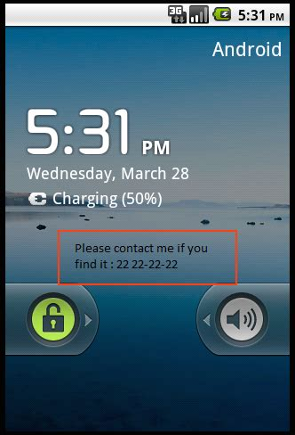 android pattern lock stack overflow android how to display a text in the lock screen
