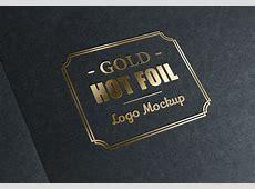 Gold Stamping Logo MockUp | GraphicBurger Glamour Magazine Logo White