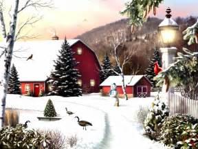 6 led lights free shipping christmas wall art canvas print