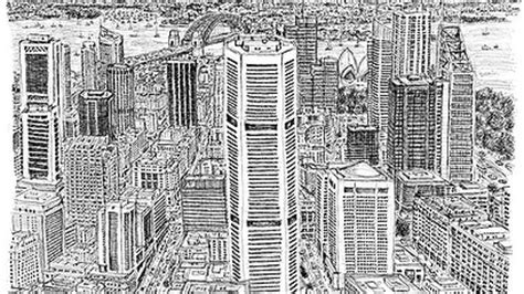 time lapse of brisbane panorama by stephen wiltshire youtube picture this artist draws on memory for brisbane work