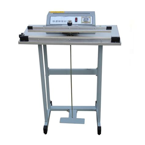 Pedal Impulse Sealer Metal Sf 300 products center continuous band sealer cup filling sealing