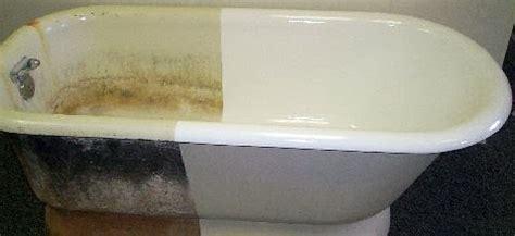cast iron refinishing porcelain restoring claw foot bathtubs 171 tub talk by tub king inc