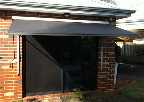 modern window awnings contemporary window awning perth awnings perth