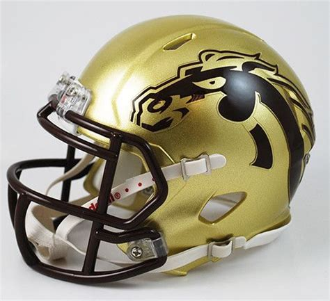 college football helmet design history 29 best western michgan broncos images on pinterest