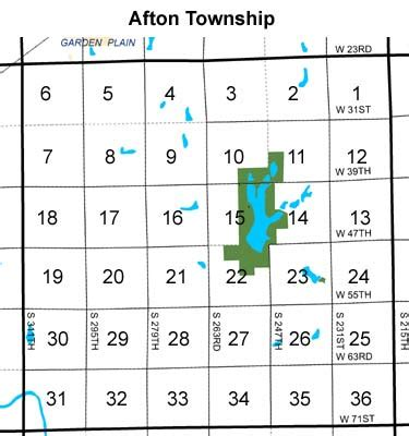 township sections afton township