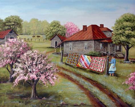 Kemben Hert folk print s quilts house dirt