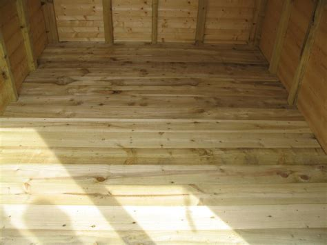 Sted Floor by Building A Shed