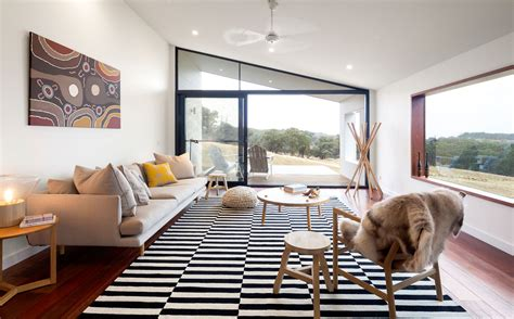 Raked Ceilings by Modern Modular Home Prebuilt Residential Australian