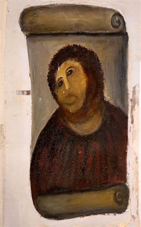 ecce homo spanish edition 1539652734 ancient spanish town where pensioner ruined jesus fresco in hilarious fashion is now tourist