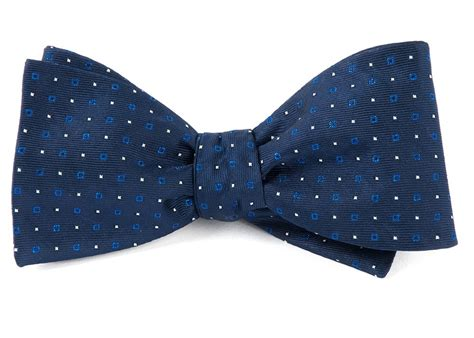 Key Glow Navy bow ties for the tie bar