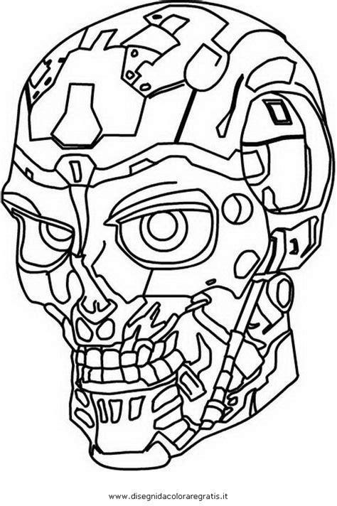 terminator characters coloring pages coloring pages