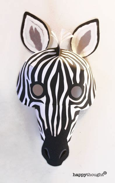 zebra mask template printable free 308 best paper mask fun images on pinterest diy