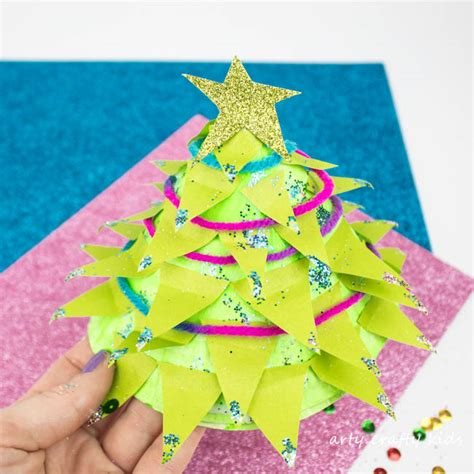 Paper Trees Craft - paper plate tree craft arty crafty