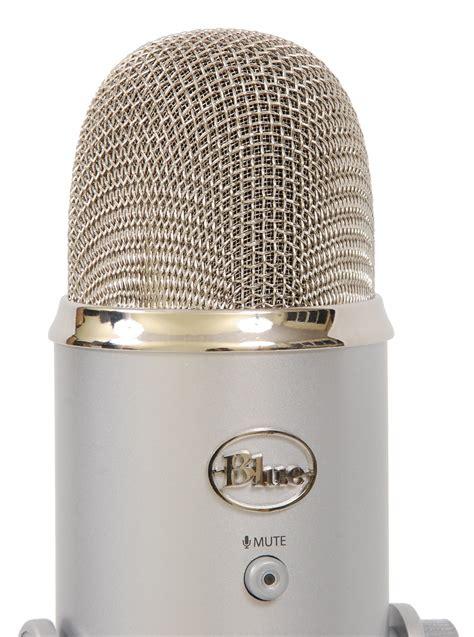condenser microphone yeti blue microphones yeti usb condenser microphone with headphones output