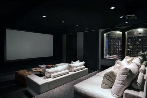 home theater design ideas  men  room retreats