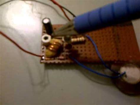 c829 transistor fm transmitter hecaworld one transistor fm transmitter