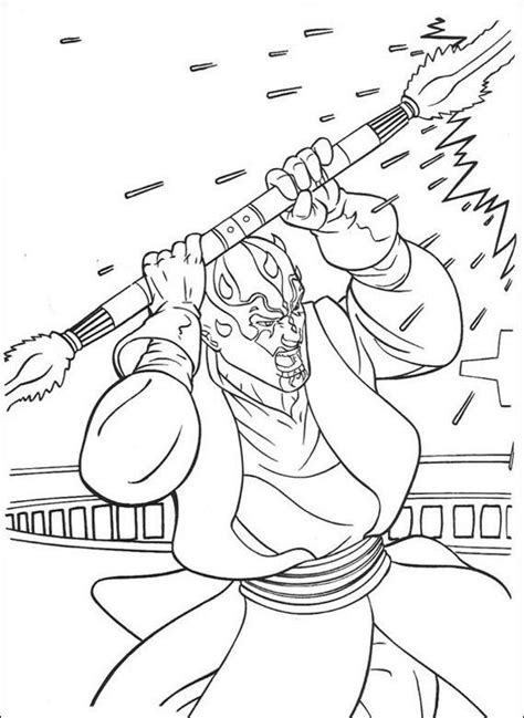 coloring pages darth maul 44 best images about wars on wars