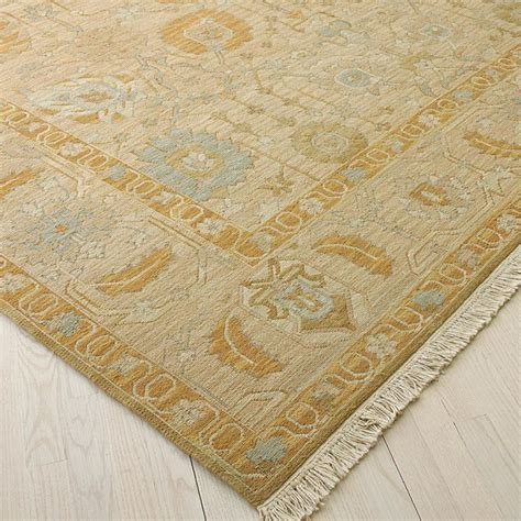gold cloudy blue and taupe soumak rug rugs