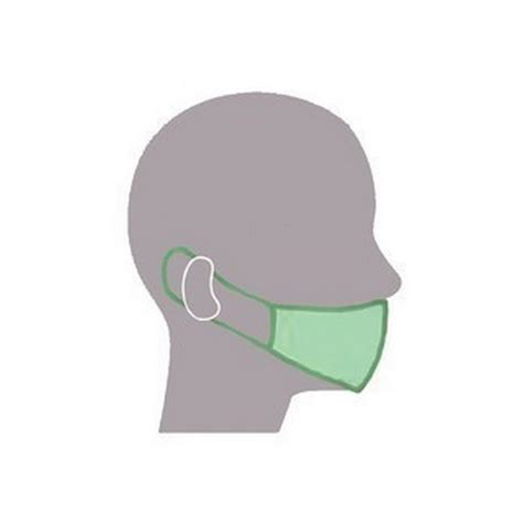 Masker Earloop protect earloop masks dental chiropody products