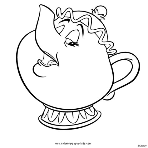 Teapot Coloring Book Cliparts Co Teapot Coloring Page