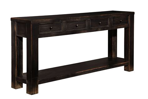 gavelston sofa console table living room astounding cheap sofa tables long narrow sofa