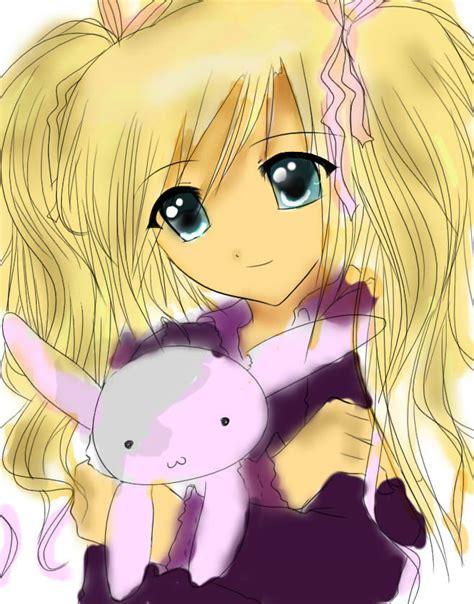 blonde anime schoolgirl blonde anime girl by iluvmanga1 on deviantart