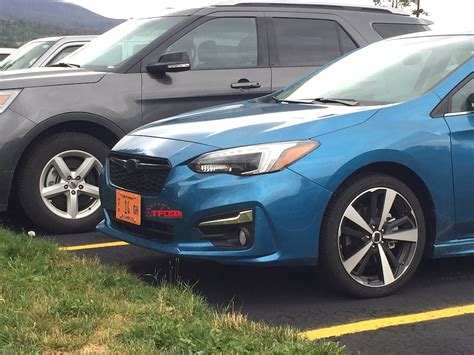 subaru impreza hatchback 2017 spied in the wild 2017 subaru impreza hatchback the