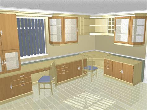 cad gallery of image of home office designs