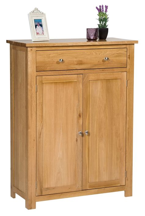 Cupboard And Drawers Waverly Oak Storage Cupboard Shoe Cabinet Hallowood