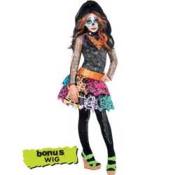 disfraces para halloween party city girls skelita calaveras costume deluxe monster high