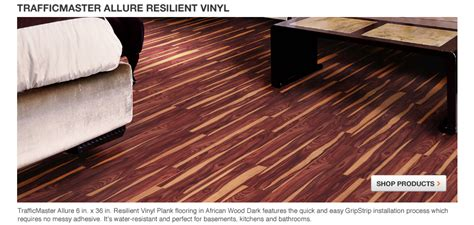 Gripstrip Resilient Plank Flooring by Plank Gripstrip Resilient Plank Flooring Home