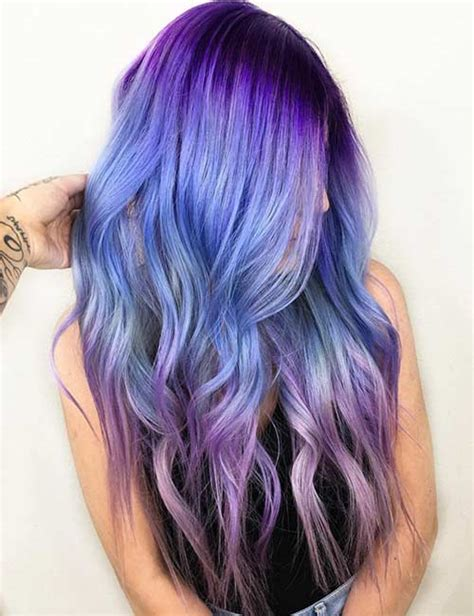 20 purple ombre hair color ideas thick hairstyles purple ombre hair dye ideas www pixshark com images